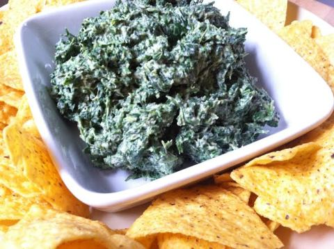 Bomb-Ass Spinach Dip